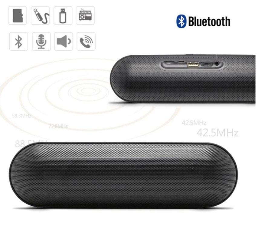 S812 Wireless Bluetooth Speaker Outdoor Portable Subwoofer Support Tf Fm Au Ebay